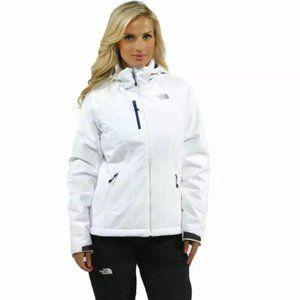 NORTH FACE Apex Elevation Jacket White Ski Coat